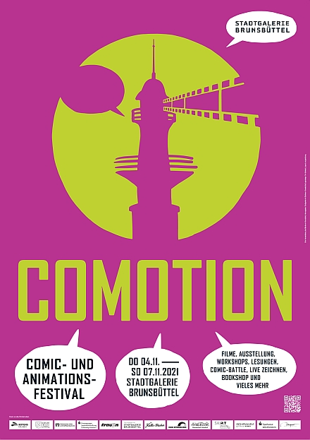 COMOTION Comic- und  Animationsfestival Brunsbüttel