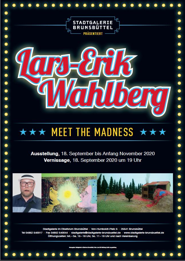 Plakat Lars-Erik Wahlberg