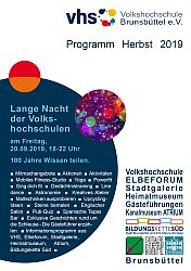 Programmheft Herbst 2019