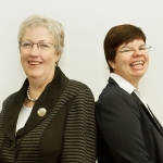Frauke Vollgraf und Christiane Schulze